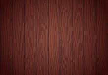 Redwood Texture. Vector Wenge Wood Background
