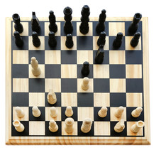 Playing Chess With Different Pieces In Board
