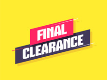 Final Clearance Label