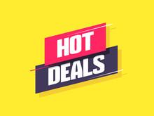 Hot Deals Label