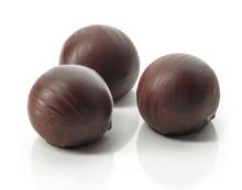 Chocolate Truffle Balls Macro