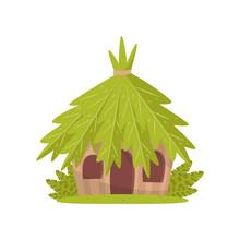 Small Hut In Tropical Jungle V...