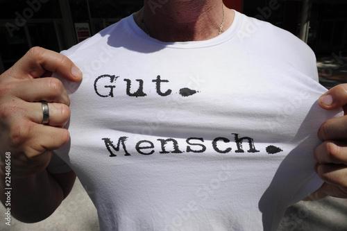 Fotografija  gutmensch