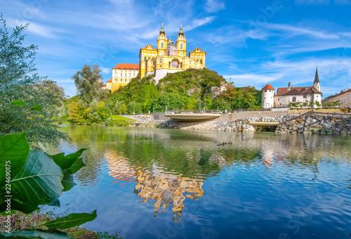 Obraz na plátně  Stift Melk an der Donau