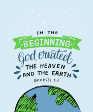 Hand Lettering With Bible Vers...