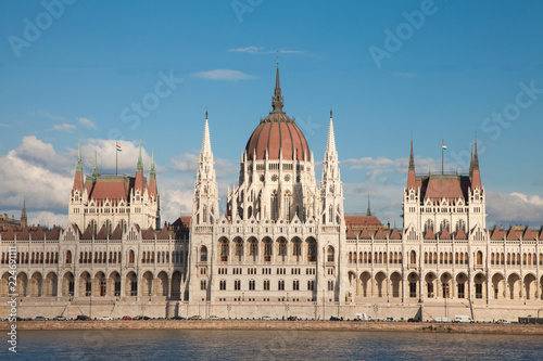 Fotografia  Budapest Parliament in Hungary
