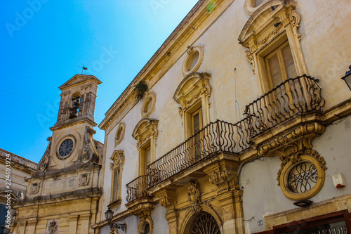 Photo the beautiful city of galatina, in Salento