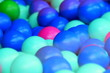 canvas print picture - Colorful balls