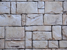 Old Stone Brick Wall Texture Background