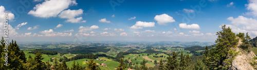Staande foto Bleke violet Panorama-Aussicht vom Guggershorn im Schwarzenburgerland