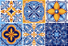 Italian Ceramic Tile Pattern. ...
