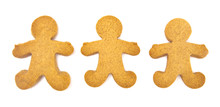 Undecorated Gingerbread People...