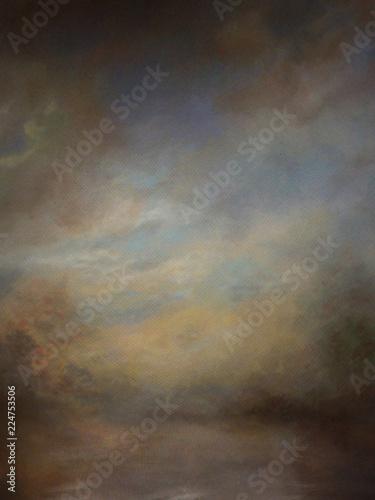 Background Studio Portrait Backdrops Canvas Print
