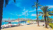 canvas print picture - Port d`Alcudia