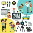 Flat Mass Media Composition