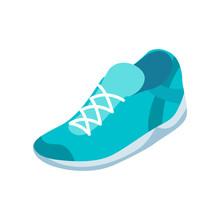 Sneaker. Isometric Style
