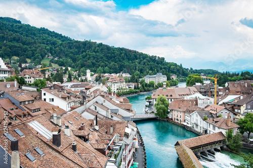 Cityscape of Thun Swiss