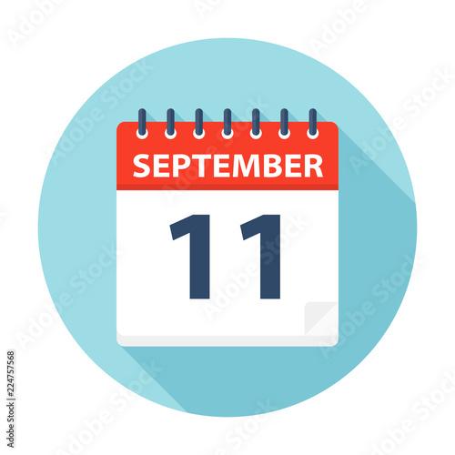 Fotografia  September 11 - Calendar Icon