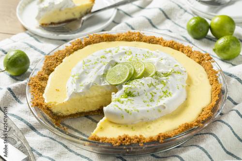 Fotografia Sweet Homemade Key Lime Pie