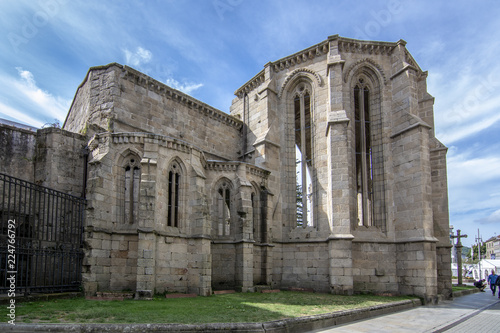 Ruinas del Convento de Santo Domingo en Pontevedra