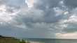 Rainy clouds time lapse in Latvia: Miera Osta