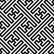 Vector Ethnic Geometric Patter...