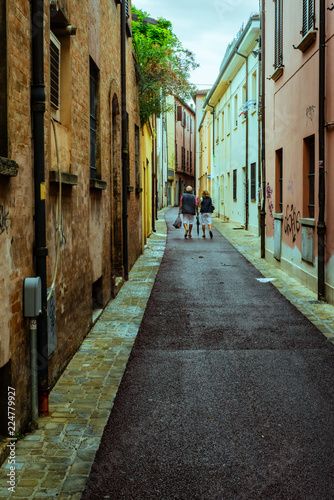 Italien Rimini Stadt