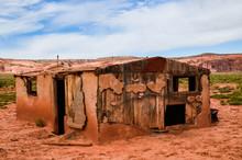 Abandoned Pueblo Hut