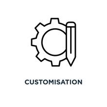 Customisation Icon. Customisat...