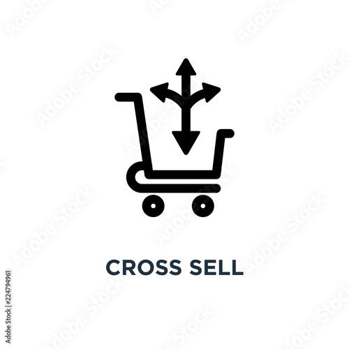 Fotografía  cross sell icon. cross sell concept symbol design, vector illust