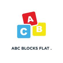 Abc Blocks Flat . Alphabet Cub...