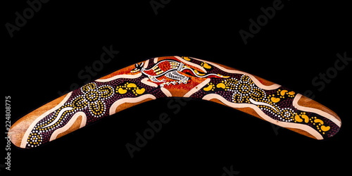 Australian boomerang from Brisbane Canvas Print