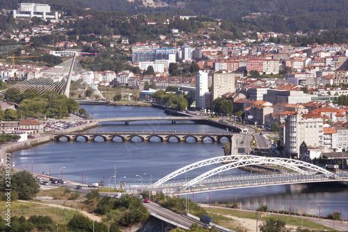 Vista panorámica de Pontevedra
