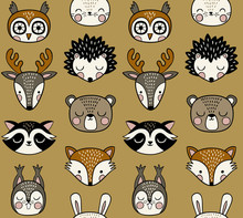 Seamless Vector Pattern With C...