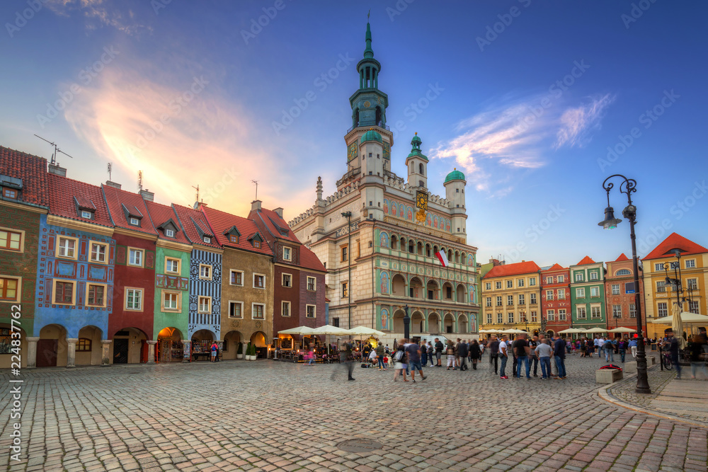 Architektura Rynku Głównego w Poznaniu. <span>plik: #224837762 | autor: Patryk Kosmider</span>