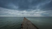 Otrada Beach In Odessa, Ukraine