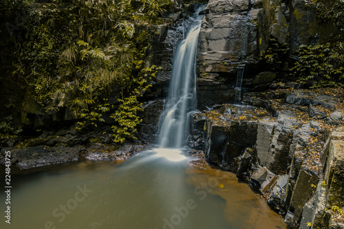 Waterfall at Gold Coast in Australia