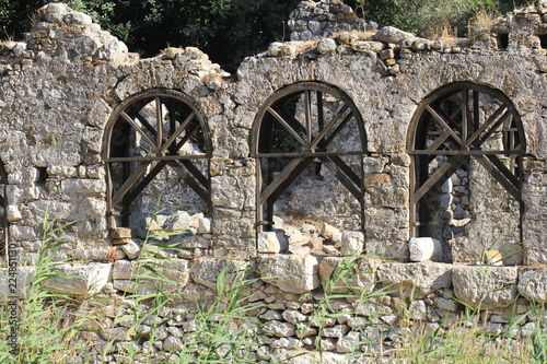 Foto op Aluminium Rudnes Руины античного города Олимпос, Турция, Кемер
