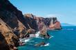 Steilküste an der Nord Ost Spitze von Madeira
