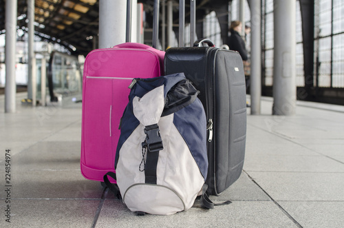 simbolo equipaje viajes