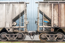 Two Hopper Cars For Train