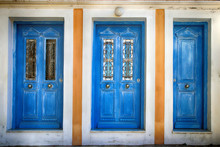 Three Old Blue Doors, Simi Gre...