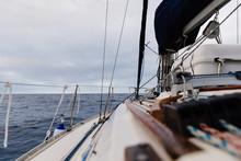 Sailboat On The High Seas