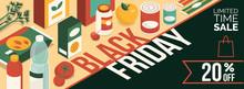 Black Friday Promotional Sale Banner