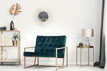 Golden Decorations And Furnitu...