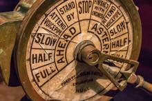 Ship Engine Order Telegraph