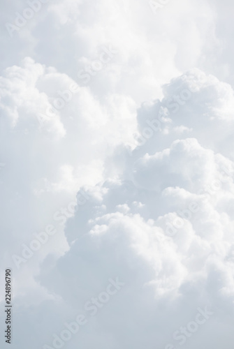 Aluminium Prints Heaven Abstract background with clouds