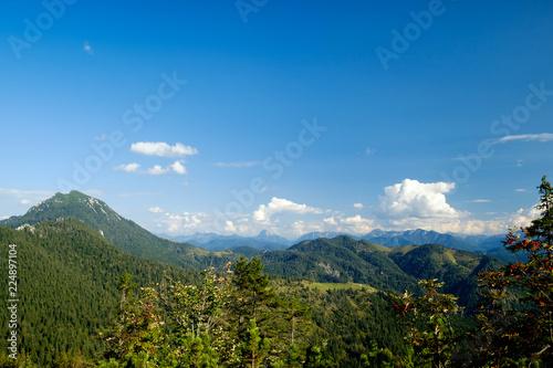 Foto op Canvas Bergen Ausblick vom Rabenkopf