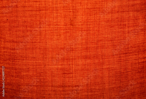 Fotobehang Stof Red fabric texture for background.