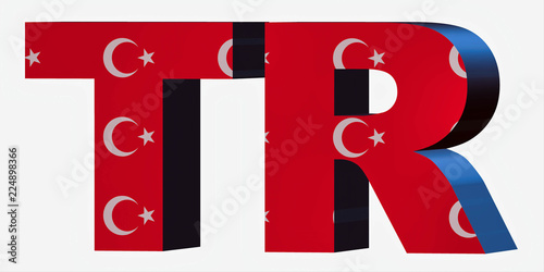 Country Short Code Letters Turkey